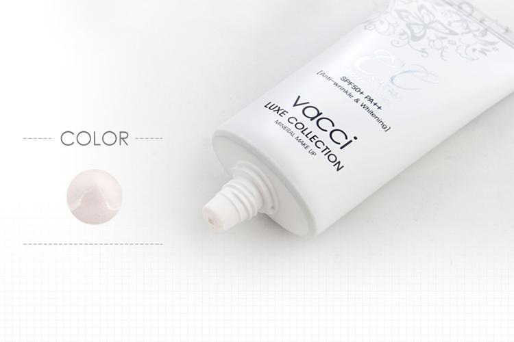 Tuýp Kem Phấn Nền Thế Hệ Mới CC Cream VACCI - Trắng Kem (15g) 1