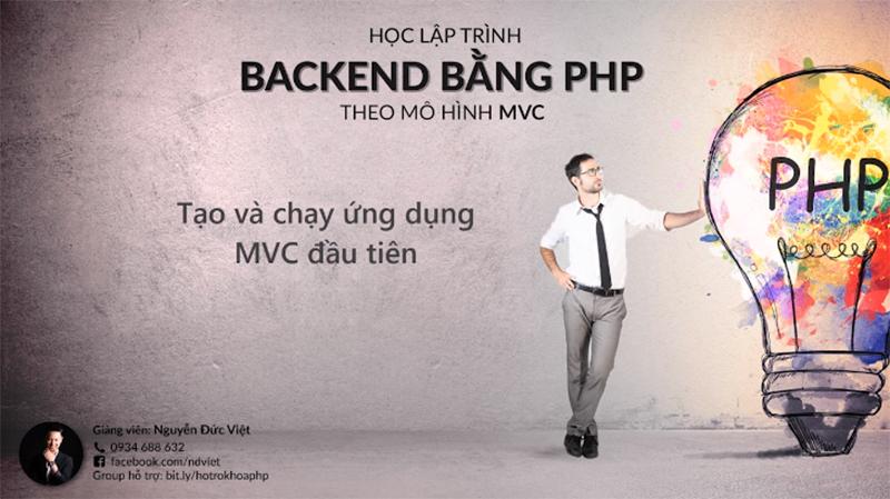 Khóa Học Lập Trình Backend Cho Website Bằng PHP/MYSQL Theo Mô Hình MVC KYNA IT06