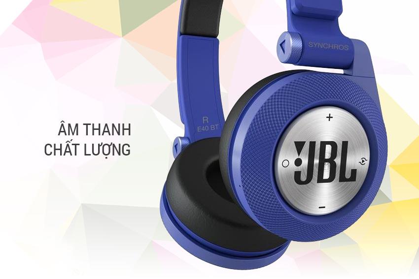 Tai Nghe Bluetooth JBL Synchros E40 BT - Có Mic 5